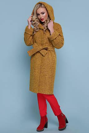 Зимнее женское пальто  с утеплителем Большие Размеры 42-44-46-48-50-52-54-56, фото 2