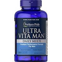 Витамины Puritans Pride Ultra Vita Man, 90caps