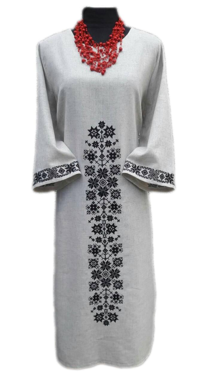 """Жіноче вишите плаття """"Адель"""" (Женское вышитое платье """"Адель"""") PK-0004"""