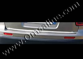 Кромка багажника (нерж.) - Fiat Sedici 2006+ гг.