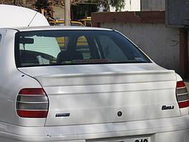 Спойлер (под покраску) - Fiat Siena 1998+ гг.