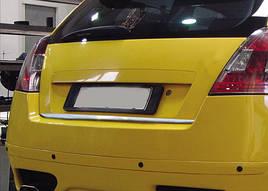 Кромка багажника (нерж.) - Fiat Stilo 2001-2007 гг.
