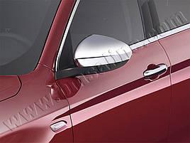 Накладки не зеркала (2 шт, пласт) - Fiat Tipo 2016+ гг.