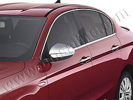 Нижні молдинги стекол (нерж) - Fiat Tipo 2016+ рр.