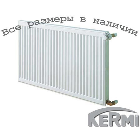 Сталевий радіатор KERMI FKO т11 300x400 бокове підключення