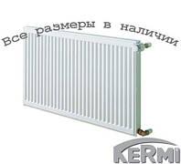 Стальной радиатор KERMI FKO т11 600x400 боковое подключение
