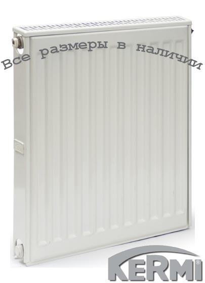 Стальной радиатор KERMI FKO т12 600x400 боковое подключение