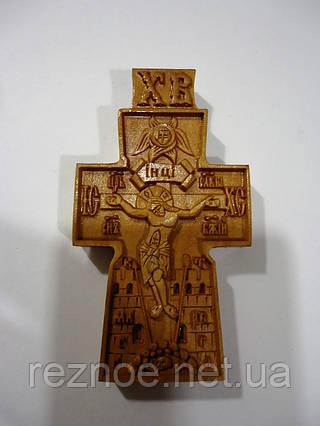 Крест нательный резной №20