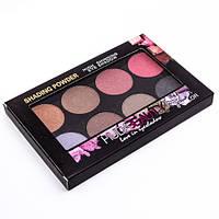 Тіні Huda Beauty Love in eyeshadow shading powder 8 кольорів (Палітра 1)