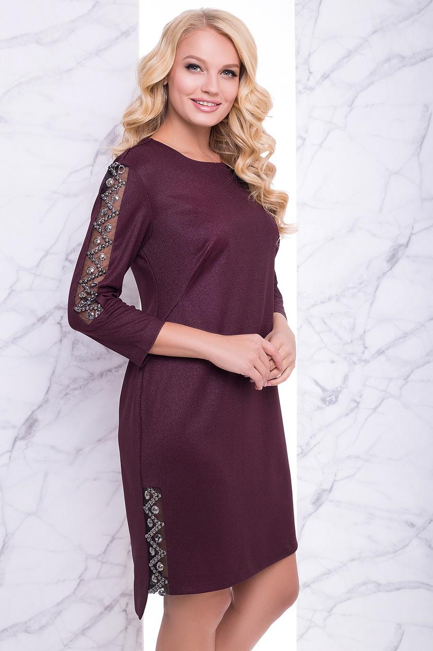 Вечернее платье из стразами с 50 по 56 размеры