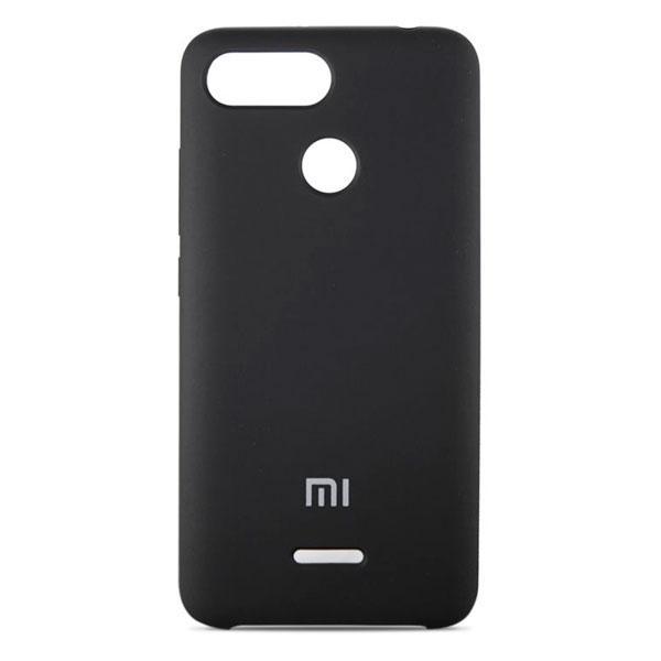 Накладка для Xiaomi Redmi 6 силікон Original Soft Case Чорний