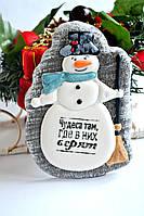 """Медовый имбирный пряник """"Снеговик"""" - Лучший подарок к новому Году 2019"""