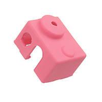 3шт Розовый Универсальный защитный изолятор Hotend Block Силиконовый Чехол Для 3D-принтера - 1TopShop