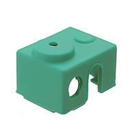 3шт Зеленый универсальный Hotend Изолятор изоляции Силиконовый Чехол для 3D-принтера - 1TopShop