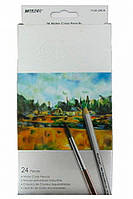 Карандаши акварельные Marco Raffine 24 цвета