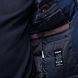 Чоловіча зимова куртка великого розміру, синього кольору., фото 7