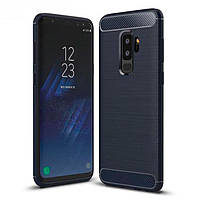 Накладка для Samsung Galaxy G965 S9 Plus TPU Slim Series Синій