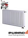 Стальной (панельный) радиатор PURMO Ventil Compact т22 300x1400 нижнее подключение, фото 2