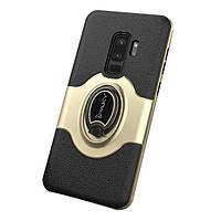 Накладка для Samsung Galaxy G965 S9 Plus силікон Yudun Case iPaky Золотий