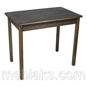 Стол из натурального дерева Легно с прямыми деревянными ногами Тис/Столешница Тис
