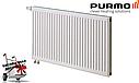 Стальной (панельный) радиатор PURMO Ventil Compact т11 500x1200 нижнее подключение, фото 2