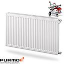 Стальной (панельный) радиатор PURMO Compact т22 300x1400 боковое подключение, фото 2