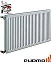Стальной (панельный) радиатор PURMO Compact т11 500x1400 боковое подключение, фото 2