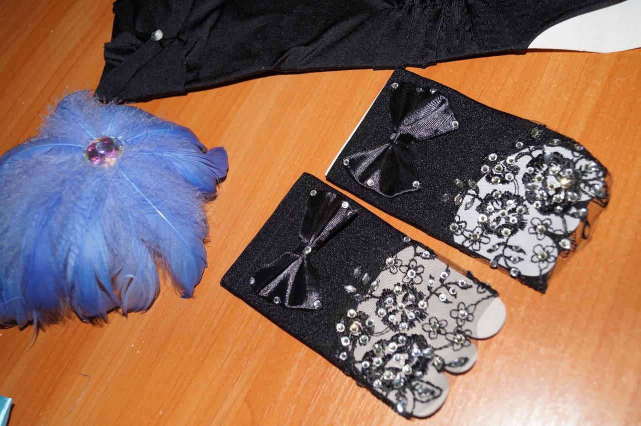 Короткі рукавички чорні