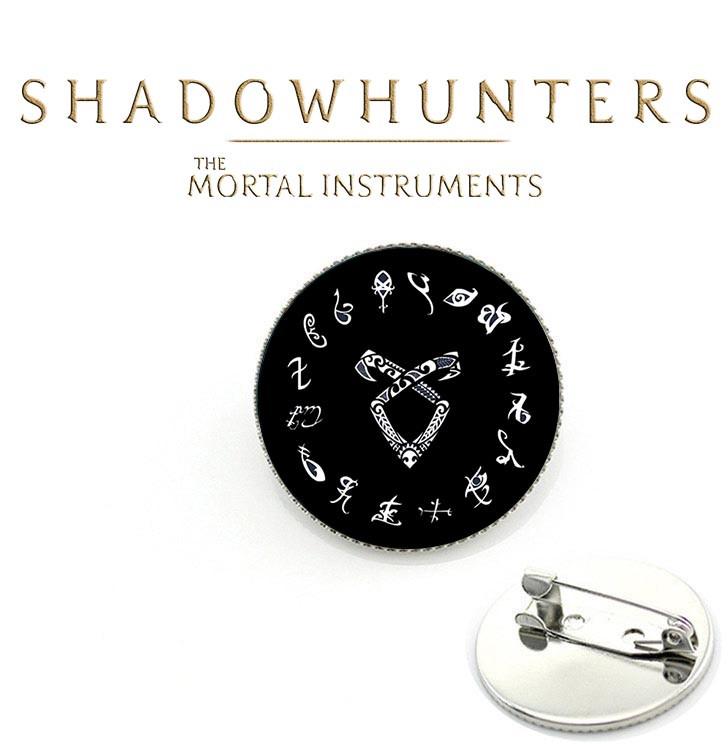 Значок Орудия смерти / The Mortal Instruments /