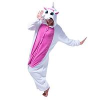 Пижама Кигуруми Единорог Розовый с крыльями  (L,М )