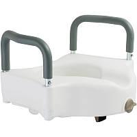 Туалетное сиденье высокое 12,5 см со съемными поручнями OSD-RPM-67034, фото 1