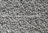 Декоративные жемчужины — серебро Ø2 - 200 г