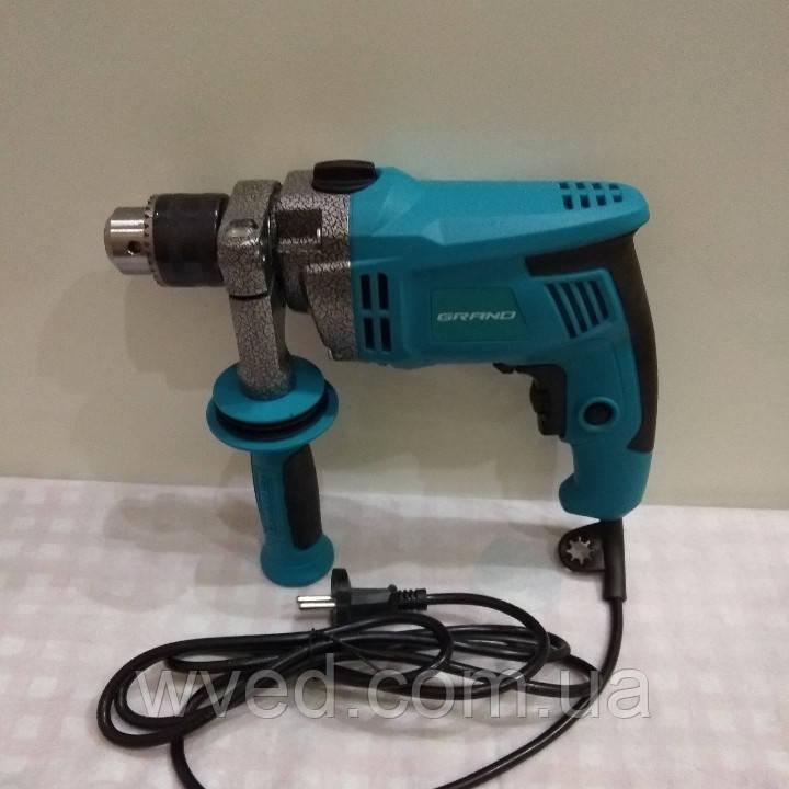 Дрель электрическая ударная GRAND ДЭУ-1280