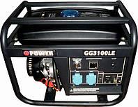 Бензогенератор Q-Power Рro GG3100LЕ 2,8кВт(3,1), фото 1