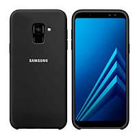 Накладка для Samsung Galaxy J600 J6 2018 силікон Original Soft Case Чорний