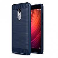 Накладка для Xiaomi Redmi 5 Plus TPU силикон Slim Series Синий