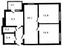 Квартира с шикарной планировкой