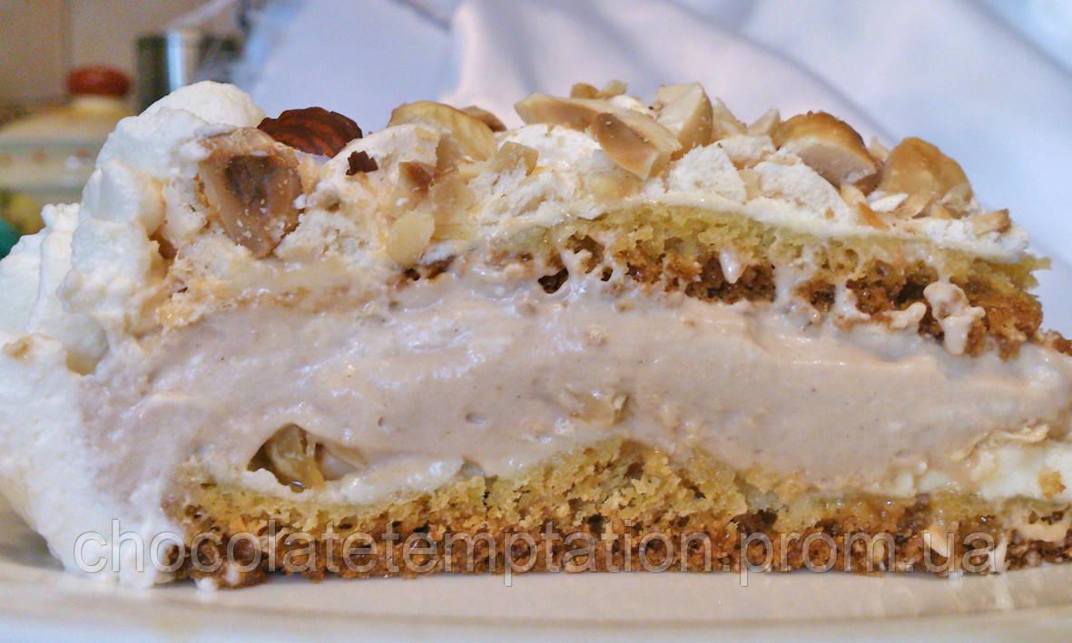Норвежский торт со вкусом лесного ореха