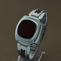 Электроника наручные электронные часы СССР , фото 1