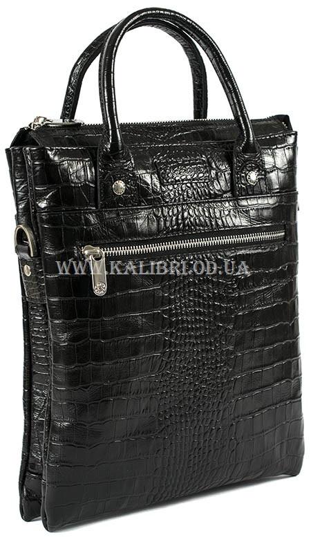e362c159fe51 Мужская сумка через плечо кожа Karya 0765-53 черный Турция - Kalibri Odessa  в Одессе