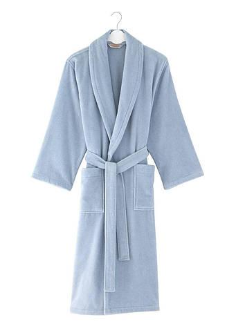 Халат Soft Cotton MICRO Синий, S 44-46, фото 2