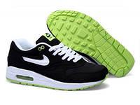 Мужские кроссовки Nike Air Max 87' черные с белым