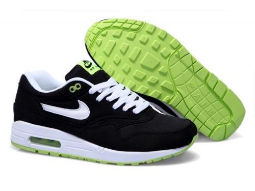 Мужские кроссовки Nike Air Max 87' черные с белым, фото 1
