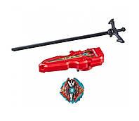 Бейблейд Экскалиус X3 и меч пускатель (Beyblade Burst Evolution Xcalius Set X3 Hasbro)