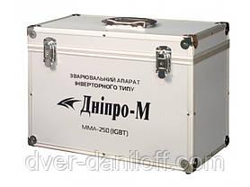 """Сварочный инвертор """"Дніпро-М"""" 250С DPB (пл.пан, дисп, м.кейс), фото 3"""