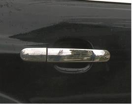 Накладки на ручки (4 шт., нерж.) - Ford Kuga 2013+/2016+ гг.