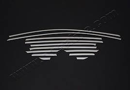 Верхняя окантовка стекол (12 шт, нерж) - Ford Kuga 2013+/2016+ гг.