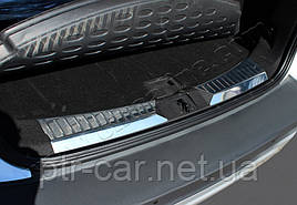 Накладка на пороги багажника (2 части, нерж) - Ford Kuga 2013+/2016+ гг.