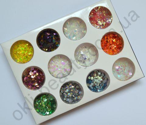 Набір 3д кристалів для дизайну нігтів №2
