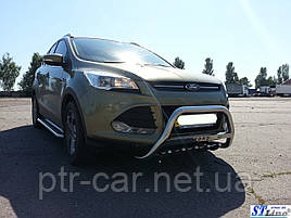Кенгурятник WT004 (нерж.) - Ford Kuga 2013+/2016+ гг.